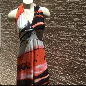 Love Stuch Halter Maxi Dress